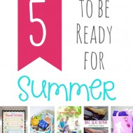 Five Ideas for Surviving Summer