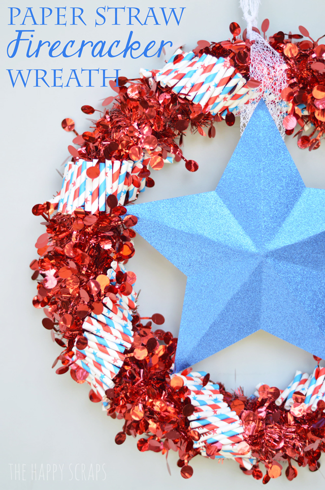 paper-straw-firecracker-wreath