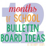 12 Months of Bulletin Board Ideas