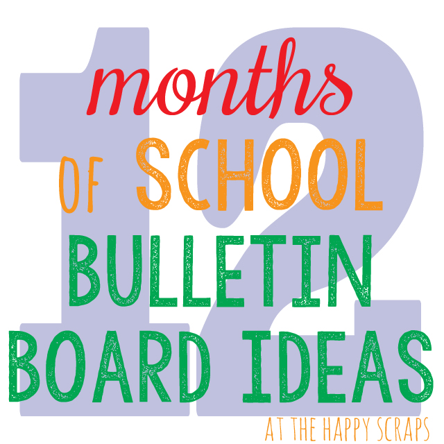 12 Months Bulletin Board Ideas