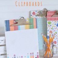 Back to School Homework Clipboards