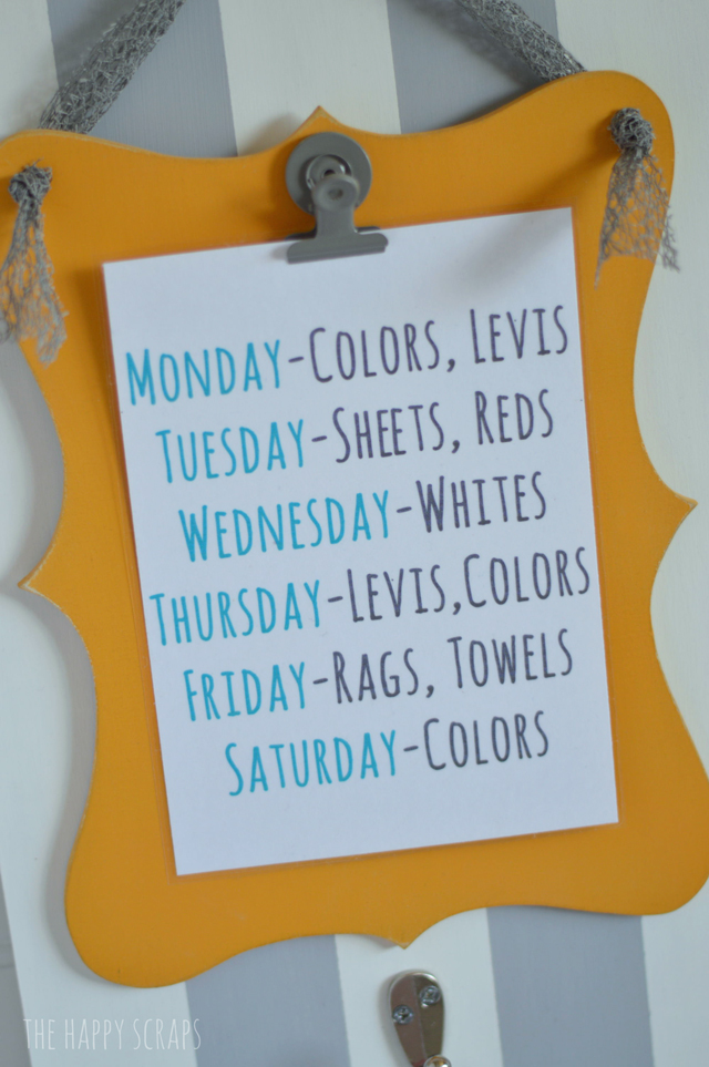 Laundry-Schedule