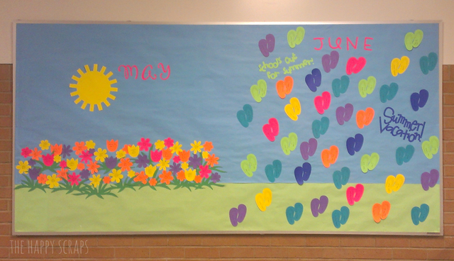 June Classroom Ideas ~ Months of bulletin board ideas the happy scraps