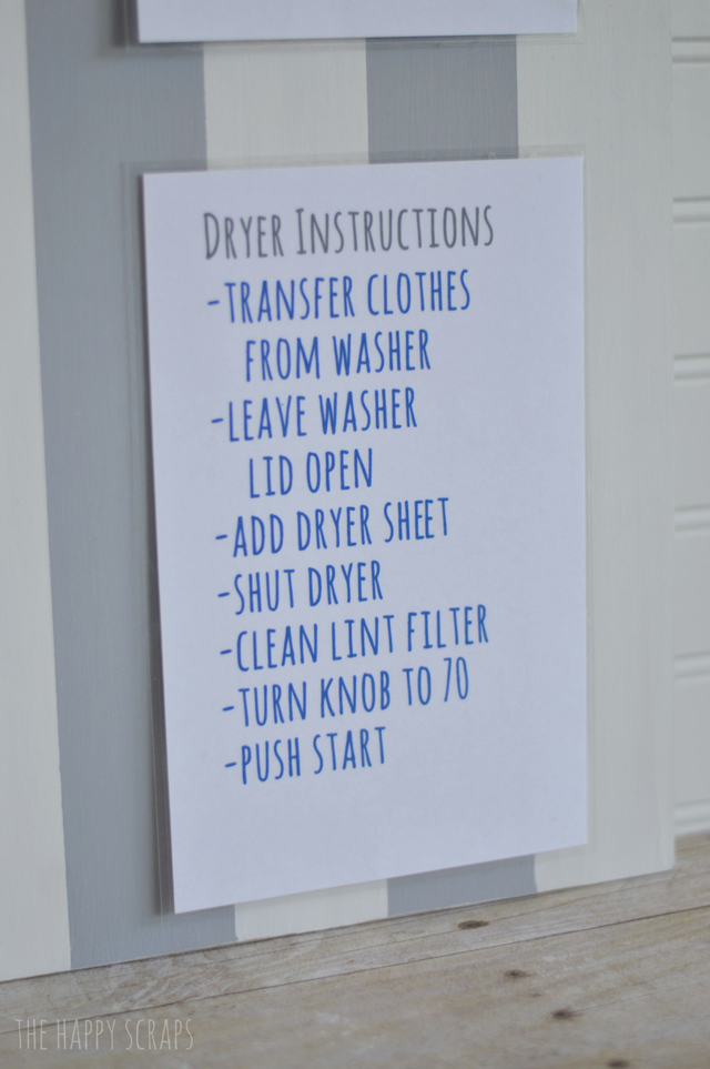 dryer-instructions