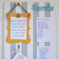 "The ""Get The Laundry Done"" Board"