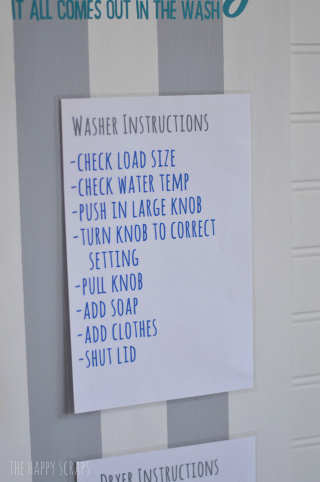 washer-instructions