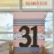 31 Halloween Sign