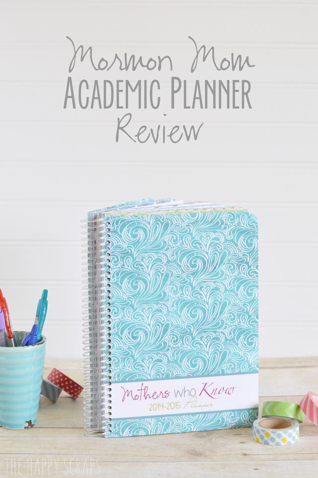 Mormon-Mom-Academic-Planner-Review