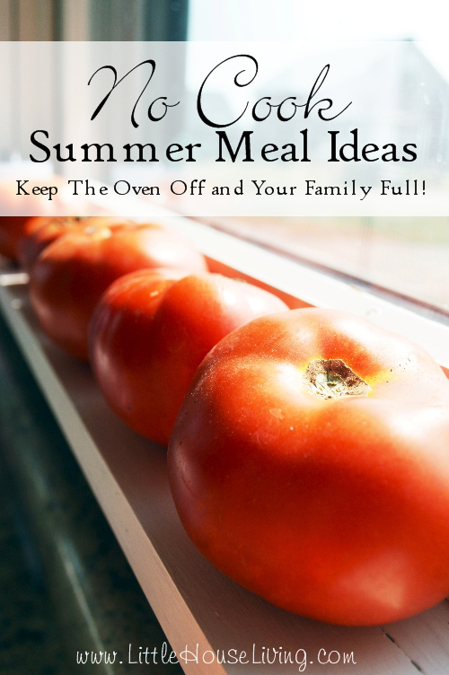 No-Cook-Meal-Ideas