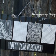 Count Your Blessings Board