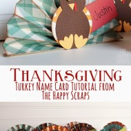 Turkey Name Card Tutorial