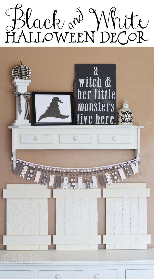 black-white-halloween-decor