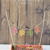 Falling Leaves Fall Centerpiece