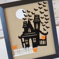 Framed Haunted House