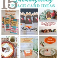 15 Thanksgiving Place Card Ideas