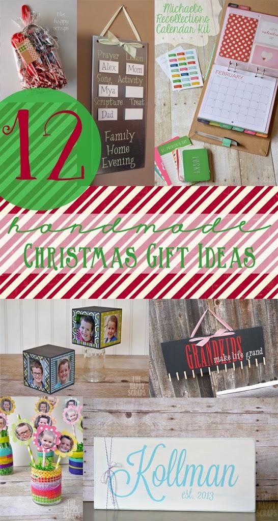 12 handmade christmas gift ideas the happy scraps