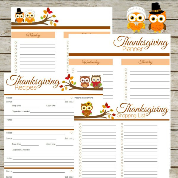 Thanksgiving-printable-planner