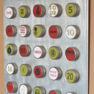 Christmas Advent Calendar with Stampin' Up!