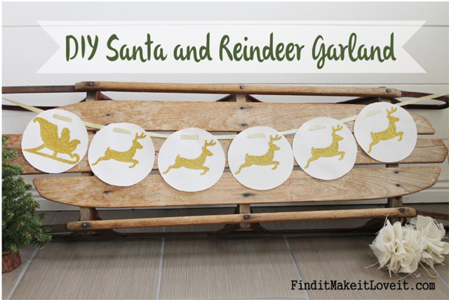 DIY-Santa-and-Reindeer-Garland