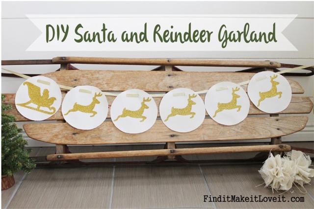DIY-Santa-and-Reindeer-Garland