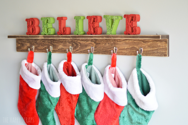 diy-stocking-holder-shelf