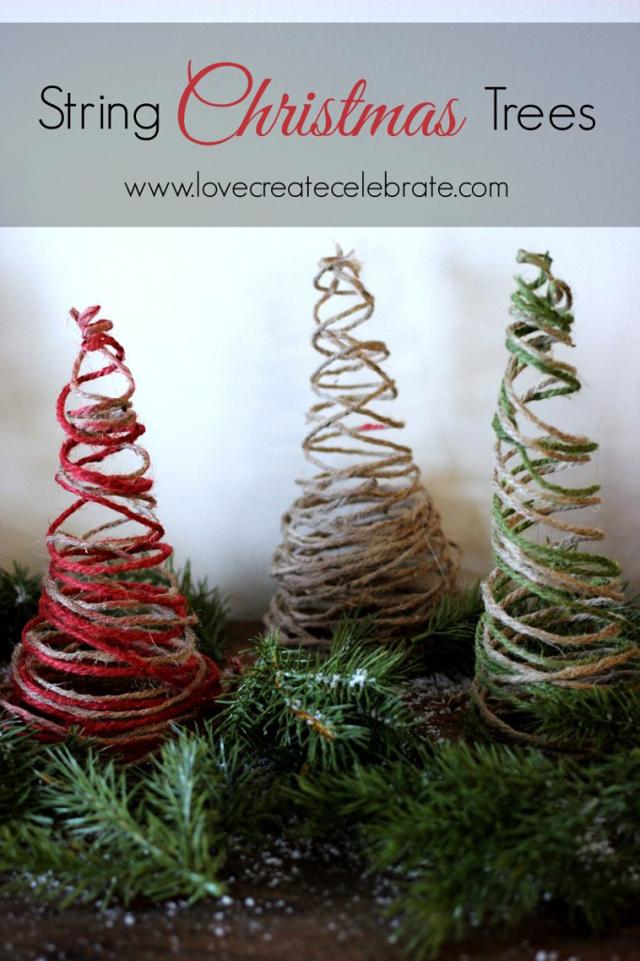 string-christmas-trees