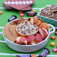 SNICKERS Cream Cheese Dip for the Big Game