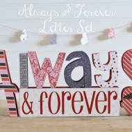 Always & Forever Letter Set