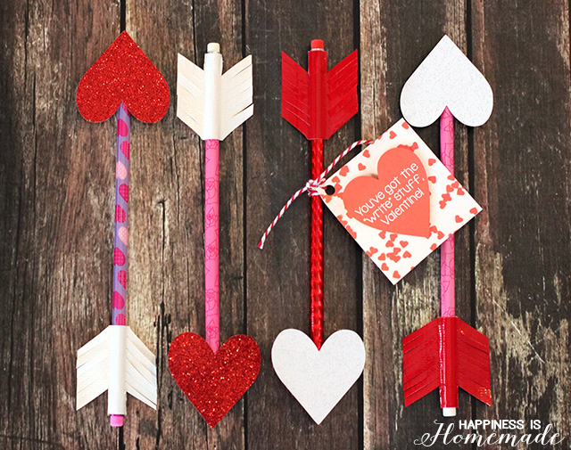 Arrow-Pencil-Valentines-Day-Gift-Idea