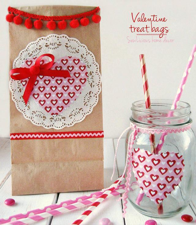 Valentine-Treat-Bags-and-matching-mason-jars-at-sewlicioushomedecor