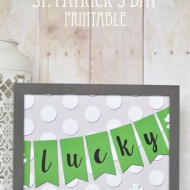 St. Patrick's Day – Lucky Printable