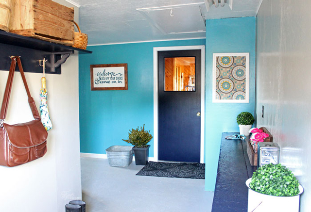 mudroom-makeover