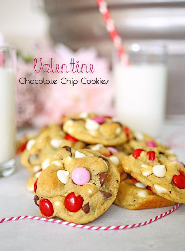 Valentine Chocolate Chip Cookies | Kleinworth & Co.