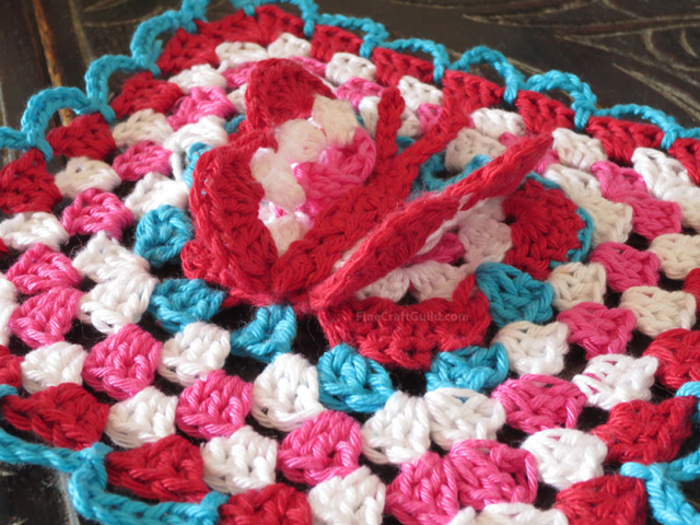 3D Butterfly Granny Square Crochet Pattern | Fine Craft Guild