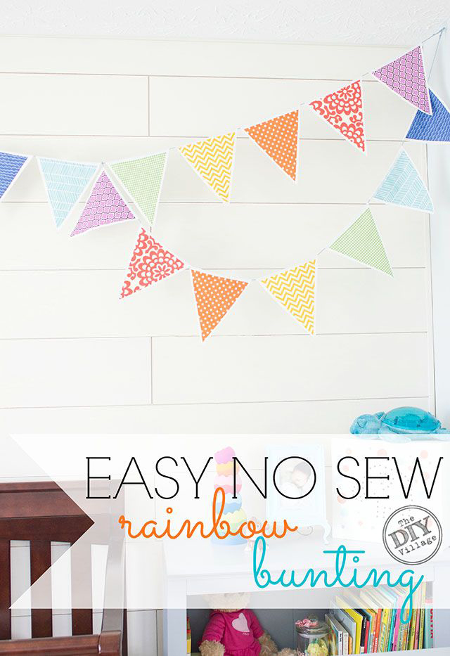 No-Sew-bunting