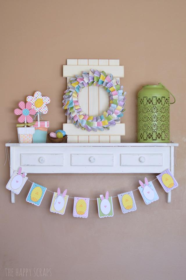 easte-shelf-decor