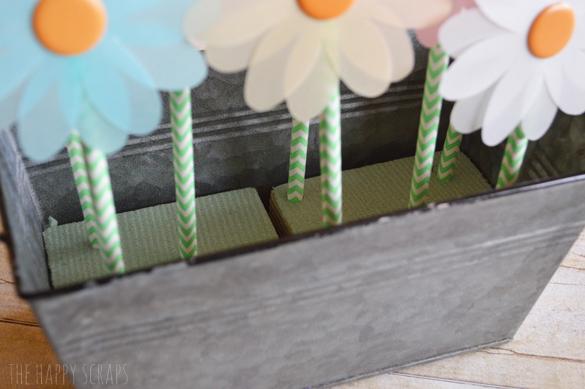 push-straws-in-floral-foam