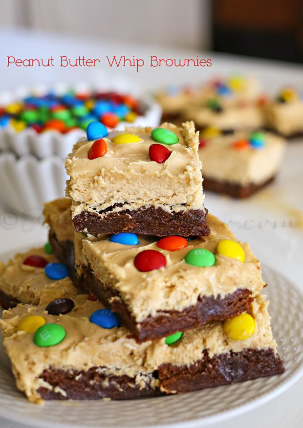 Peanut-butter-whip-brownies
