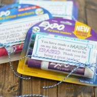 Dry Erase Marker Teacher Appreciation Gift