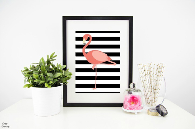 flamingo-printable-styled