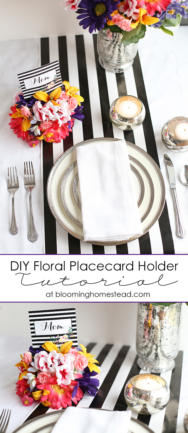 DIY-Floral-Placecard-Holder-Tutorial