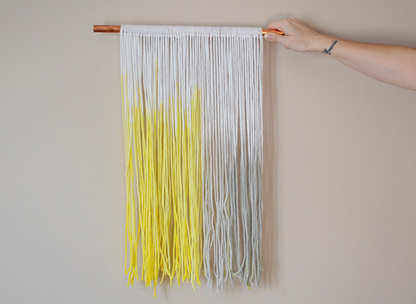 dip-dyed-yarn-wall-art