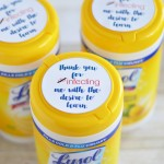Lysol Wipes Teacher Gift