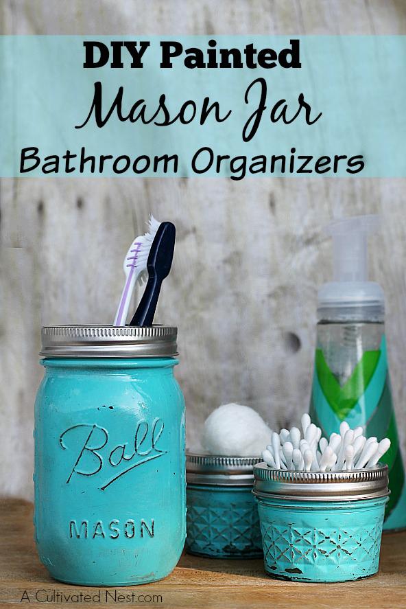 DIY-Mason-jar-bathroom-organizer