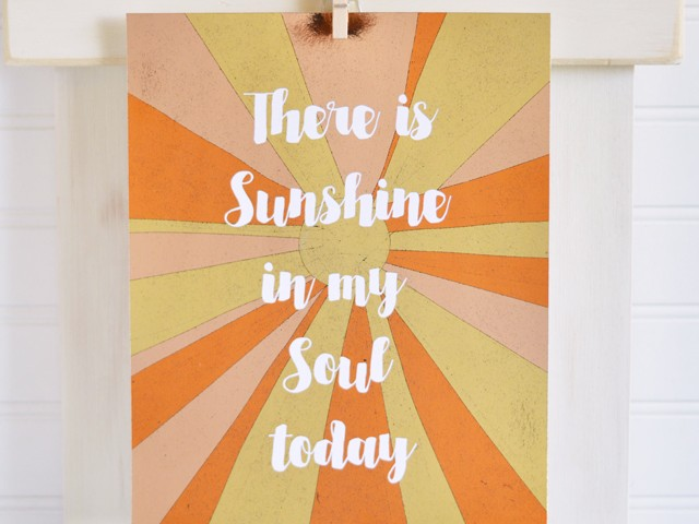 foiled-sunshine-print