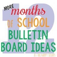12 More School Bulletin Board Ideas