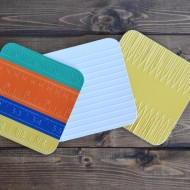 DIY Back to School Coasters