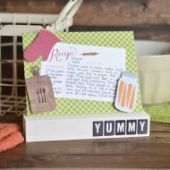 DIY Recipe Card Holder