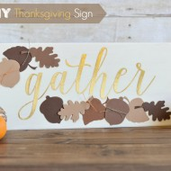 Gather Thanksgiving Sign