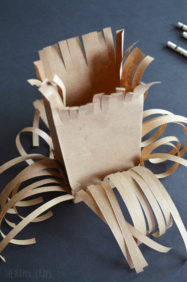Cute Broomstick Treat Bags created with the September Paper Pumpkin Kit from Stampin' Up! Perfect for party favors! Make some today!